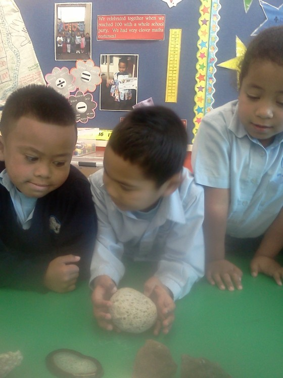 Long discussions were had as to whether pumice could be rock when it was so light